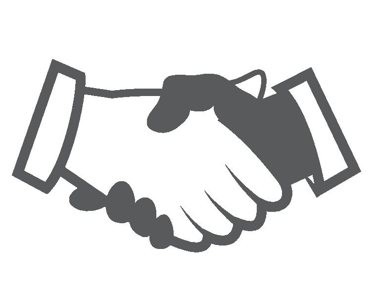 Symbol Handshake, Jobs bei RentSales